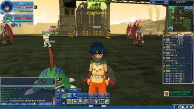 Screen shot of in-game DMO